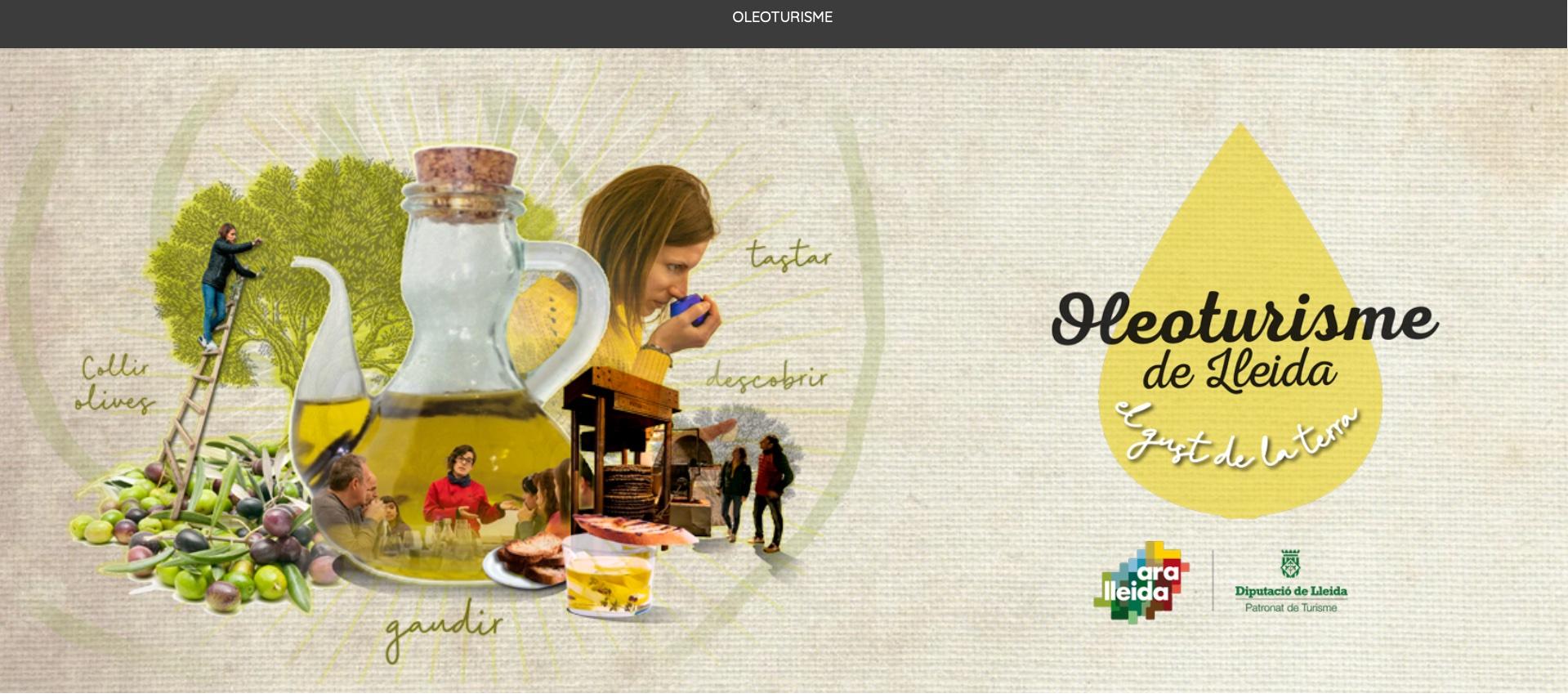 Creació de l'oferta de producte d'oleoturisme per Ara Lleida - Tourislab